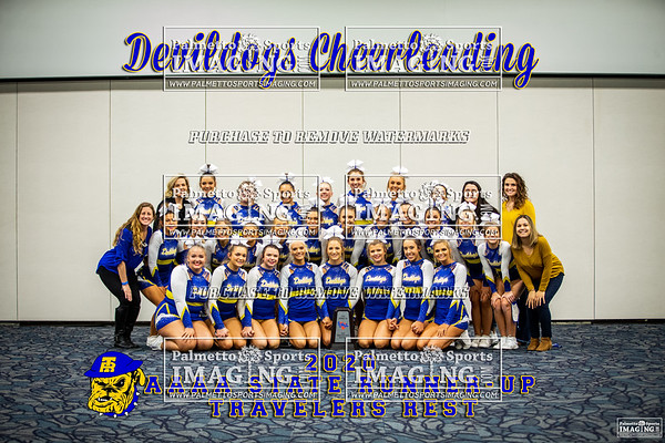Travelers Rest Varsity Cheer 2020 State Championship