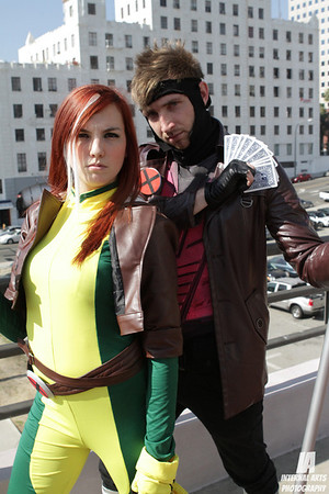 Cosplay Tay as Rogue & Gambit @ LBCC 2012