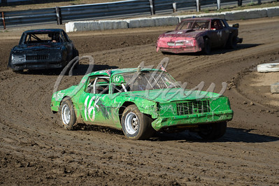 Dirt Oval - Rolling Thunder Big Rig Racing - Aug 25, 2012
