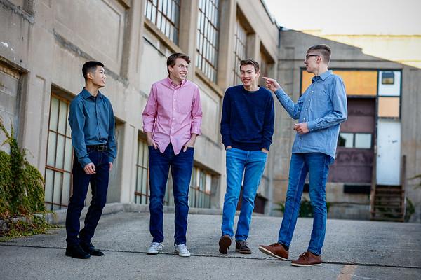 Senior Boys Group Shots