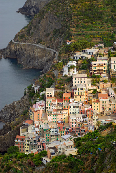 Village of Riomaggiore and Cinque Terre National Park, Italy