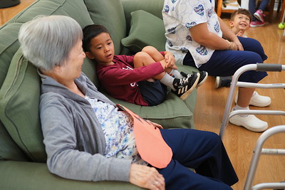Senior care home visit
