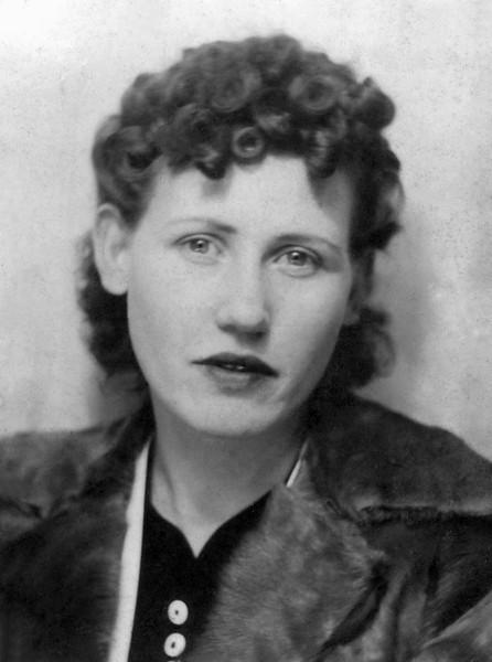 My Mom in 1933