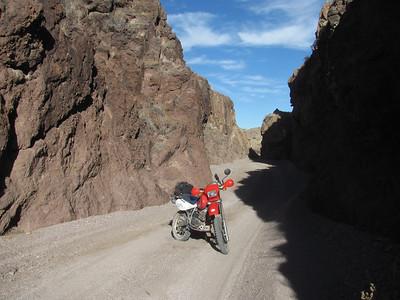 Quebradas-Johnson Hill-Box Canyon DS Ride  1-20-14