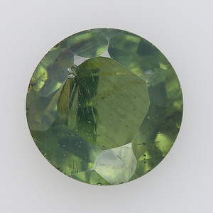 3.89 Post consumer green olive antique Peridot (pcpt-a002)