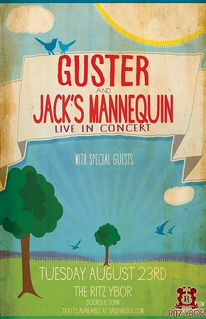 Guster & Jack's Mannequin August 23, 2011
