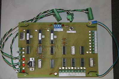Motion control board.