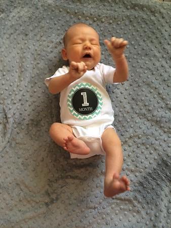 Alex 1 Month Old