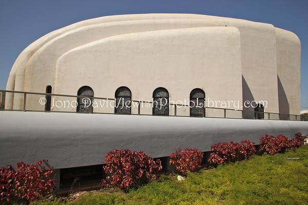 ISRAEL, Tel Aviv. Hechal Yehuda Synagogue (aka Recanati Synagogue). (3.2012)