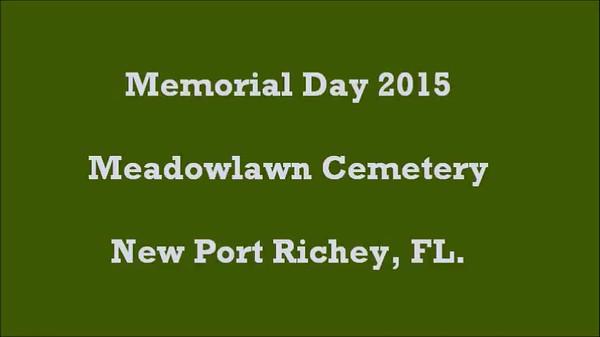 2015 Memorial Day