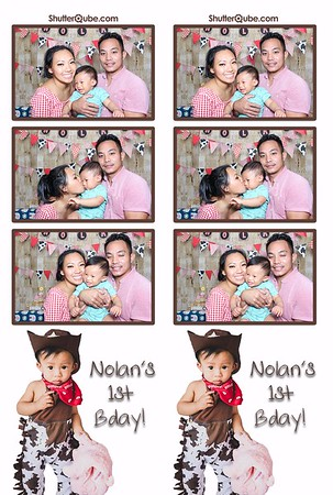 Nolan's 1st Birthday