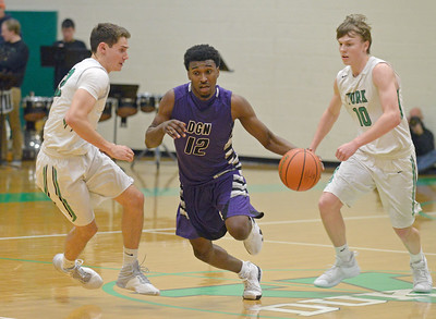 Downers Grove North vs. York boys basketball