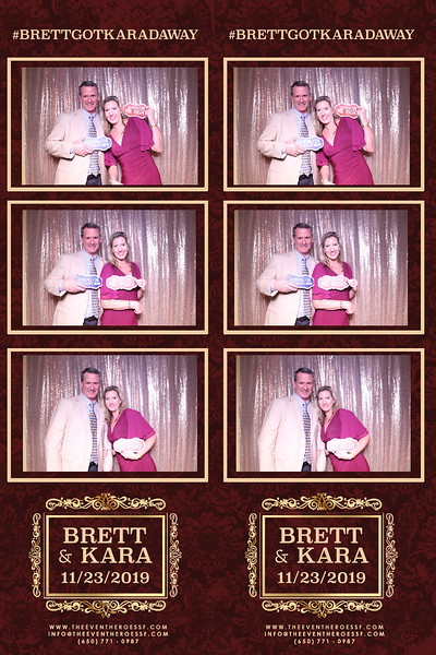 Brett & Kara's Wedding  | 11.23.2019