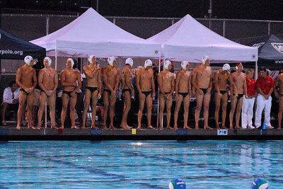 S & R Sport Junior Olympics 2010 - Platinum Division 18U Boys First Place Game - Socal Water Polo Club vs Los Angeles 8/3/10. Final score 14 to 9. SWPC vs LAWPC. Photos by Allen Lorentzen.