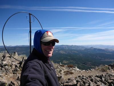 Smith Peak (W6/NS-198) SOTA Activation 10/01/2013