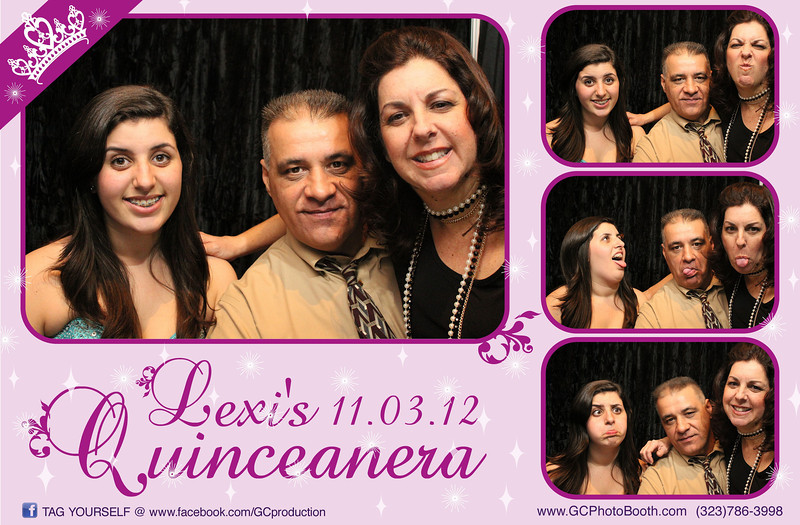 Lexi's Quinceanera Photo Booth