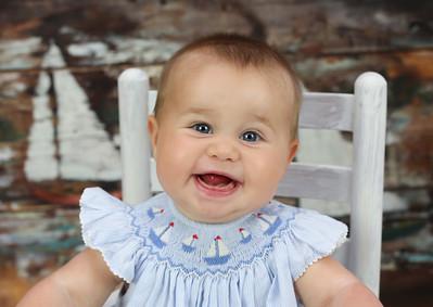 Olivia 7 Month Peeks