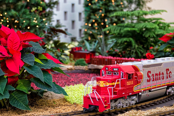 Gardenland Express Holiday Flower and Train Show