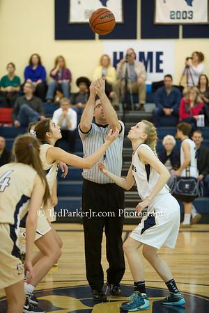 2014-02-04 Basketball Girls vs Savio