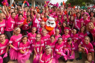 Team Pink Flash Mob - October 17, 2015