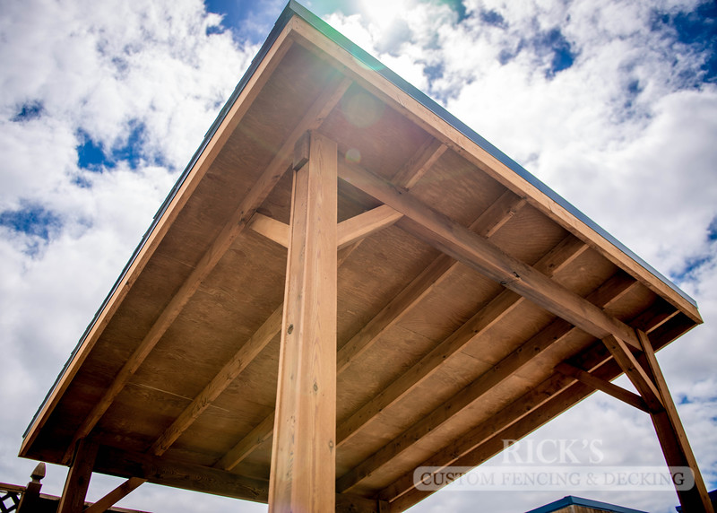 5161 - Wood-Framed Patio Cover