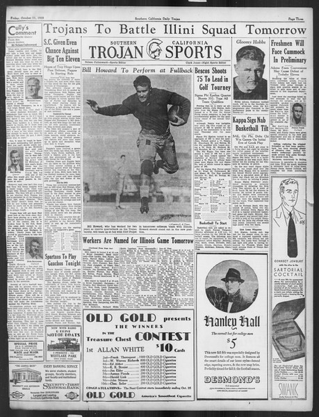 Daily Trojan, Vol. 27, No. 16, October 11, 1935
