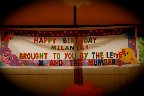 Milania 2nd Birthday