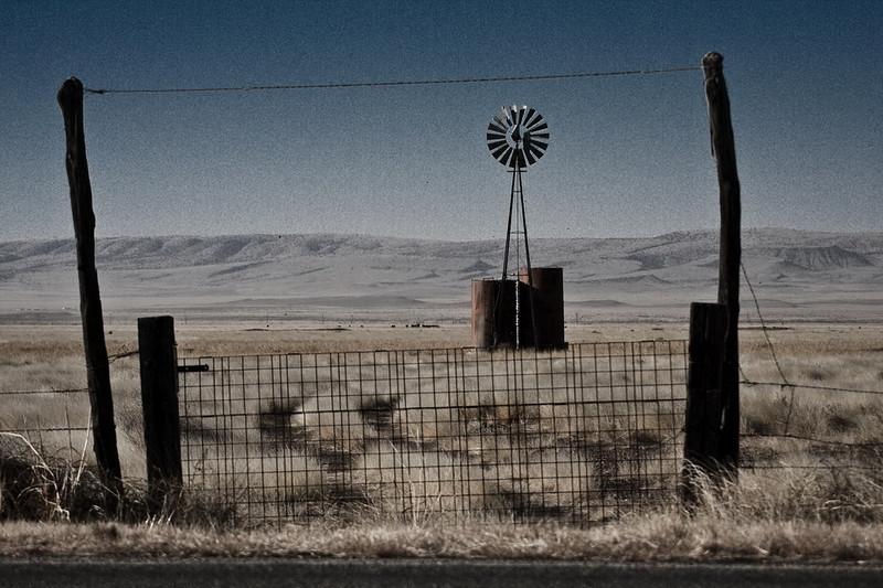 Near Fort Davis, Texas