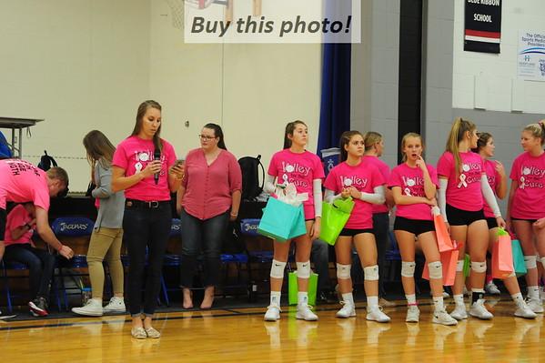 BBE volleyball v. HLWW 10-15
