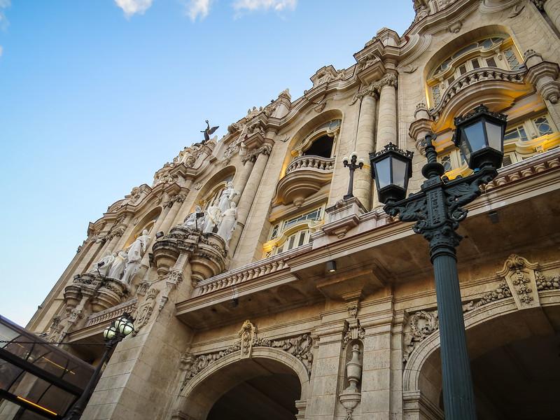 National Theatre of Cuba, La Havana.