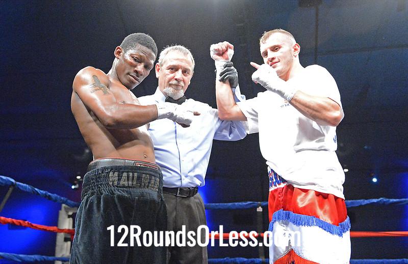 Bout 4 Sammy Vasquez, Jr, Monessen, PA vs Damon Antoine, Akron, OH