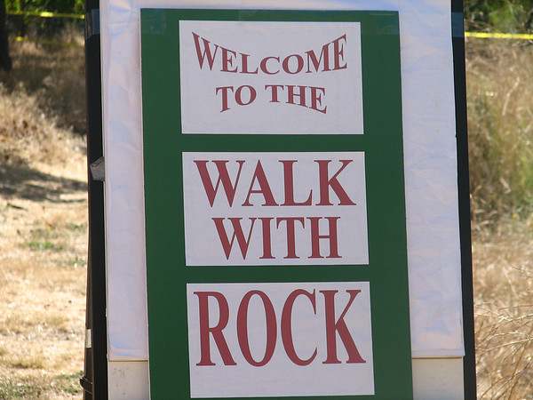 Celebrate Adventure!, the Walk with Rock 2008