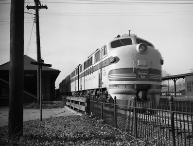 CB&Q Diesel Locomotives and Motorcars
