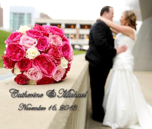 Catherine & Michael 13x11 Wedding Album