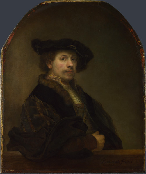 Self Portrait at the Age of 34