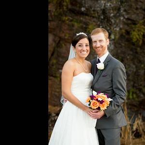 Tammy & Josh Wedding album