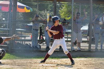 Summer Baseball Lowell Torunament Chelmsford vs Lowell July 17
