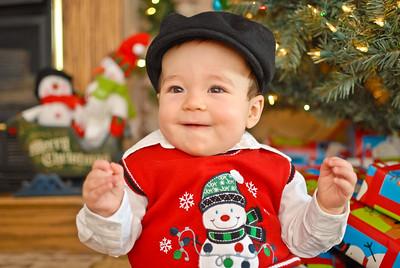 Carter's First Christmas 2012