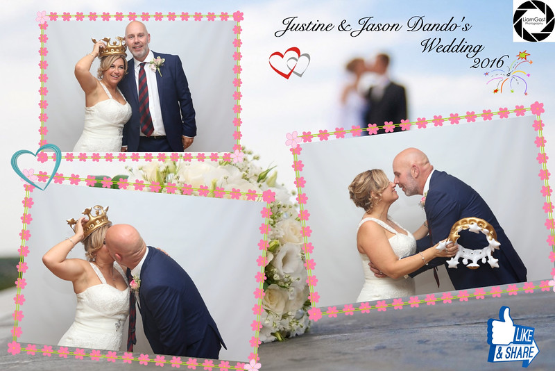 Justine & Jasons Photo booth