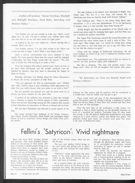 SoCal, Vol. 61, No. 74, February 16, 1970