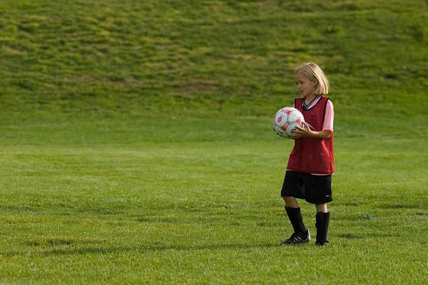 Firebirds Soccer U10 Girls 2007 Sep 15