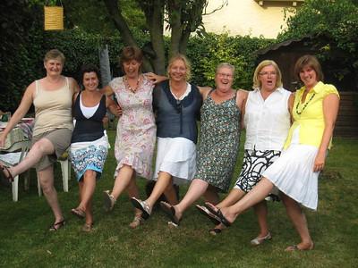 Vrienden BBQ zomer 2009