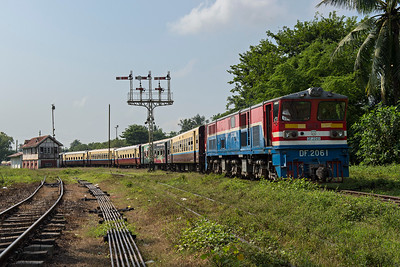 Mandalay Xpress leaves Bago behind Bo-Bo-Bo DF2061