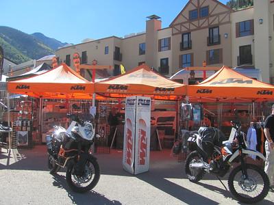KTM National Rally at Taos Ski Valley, NM  September 18-21, 2014