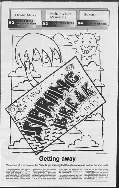 Daily Trojan, Vol. 119, No. 31, March 01, 1993