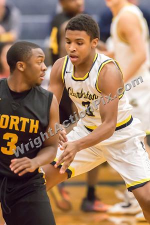 2017 01 24 Clarkston Varsity Basketball vs North Farmington