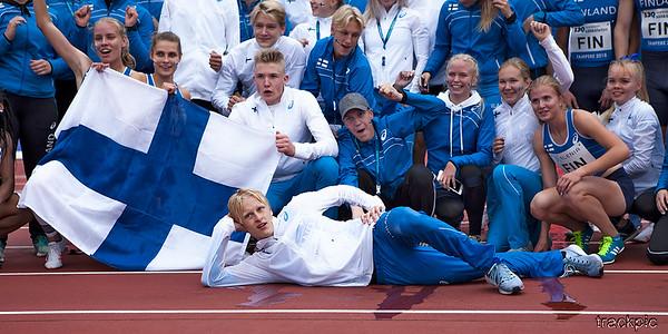 Ruotsiottelu 2018, nuoret / Ungdomsfinnkampen 2018