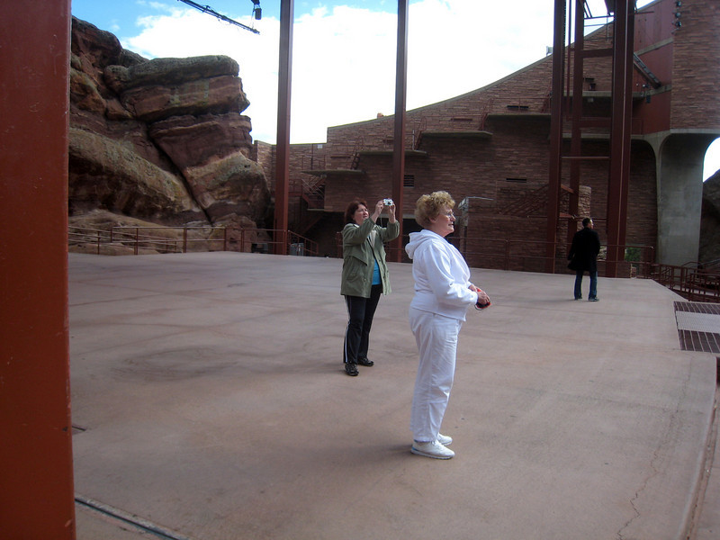 Denver, Colorado  October 2008 - Red Rocks Amphitheater