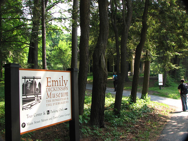 Day 13: Emily Dickenson's House, The Evergreens