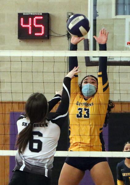 Shawsheen Tech vs Greater Lowell volleyball 033021